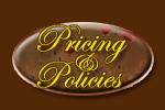 Pricing and Policies